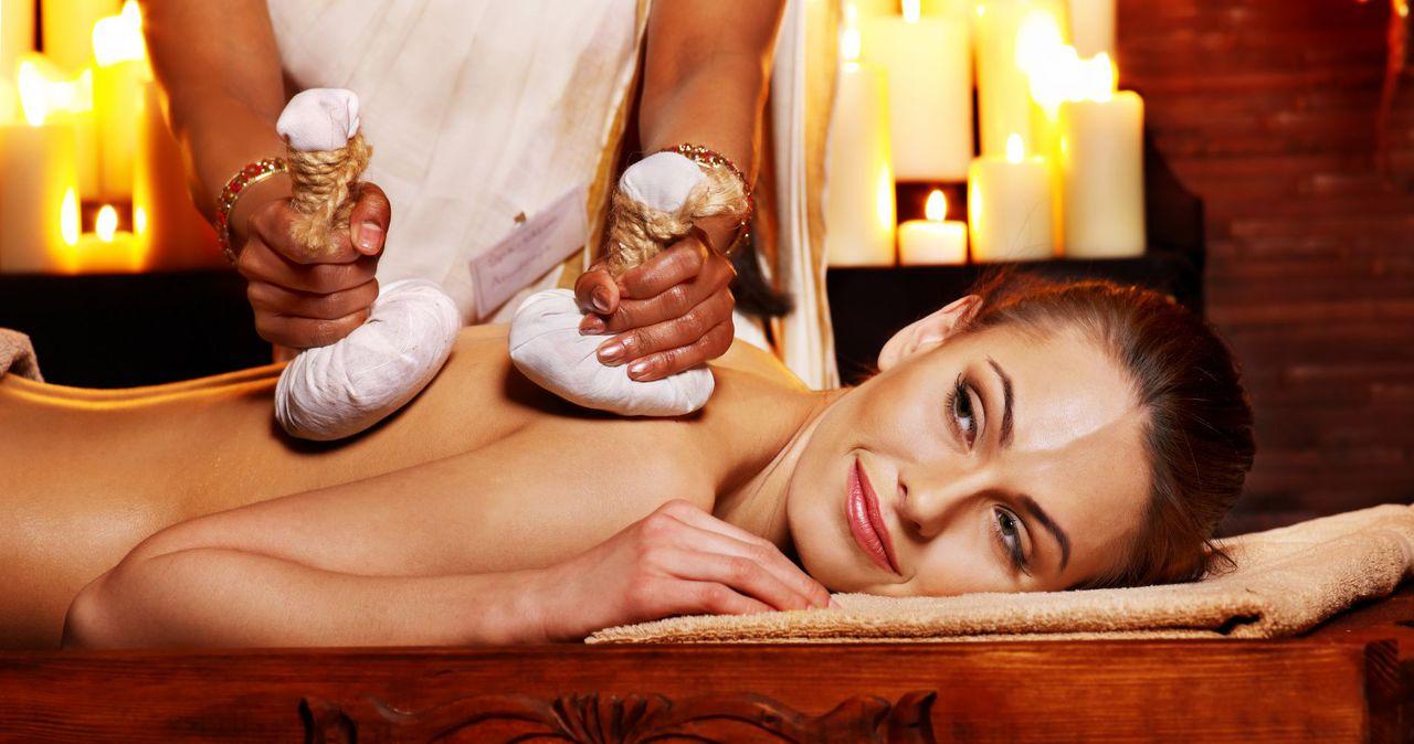Индиски массаж порно